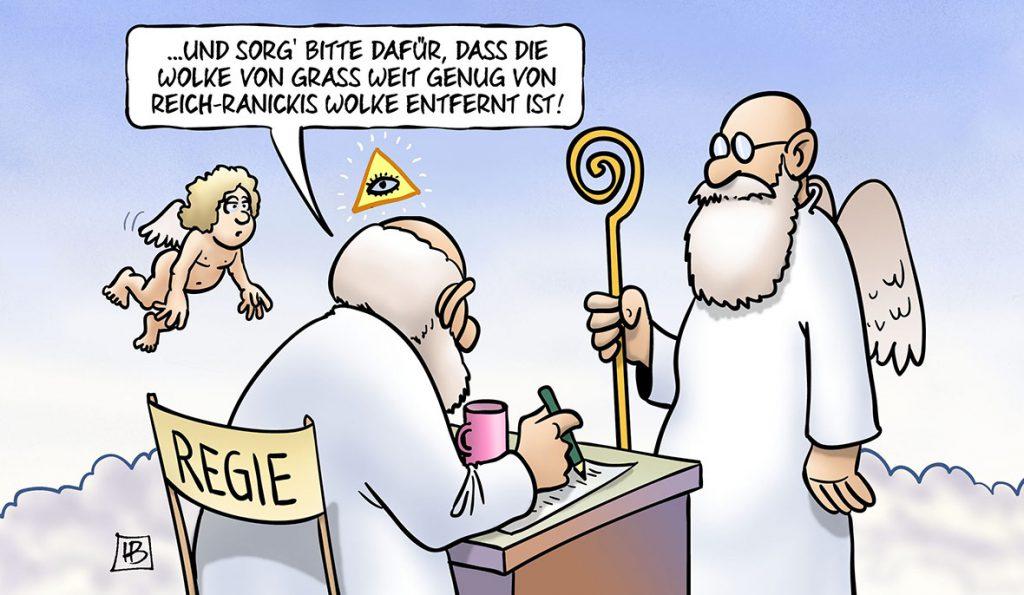Karikatur: Harm Bengen
