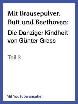"""Teil 3 der Lesung aus """"Mit Brausepulver, Butt und Beethoven"""""""